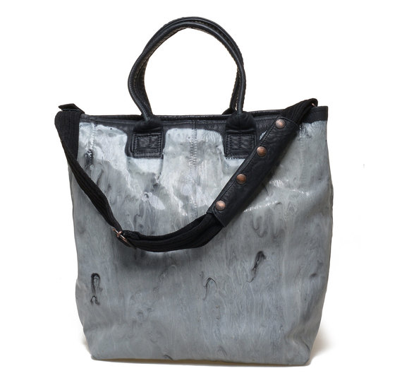 Shopper bag marble