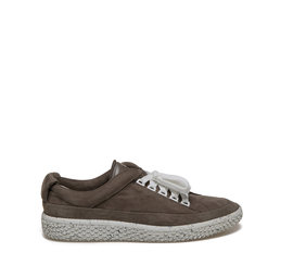 Woobie<br />nubuck leather ankle sneaker