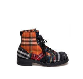 Frank<br />Men's desert boot multicolour patchwork