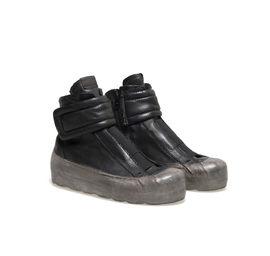 Sneaker platform bilcolour with velcro
