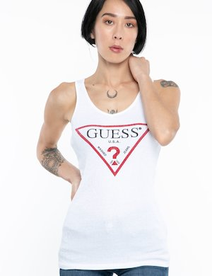 Top Guess logo centrale