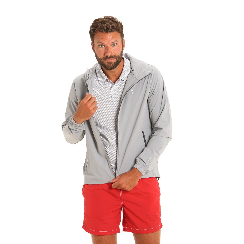 E58 water-repellent and windproof men's jacket - Grey
