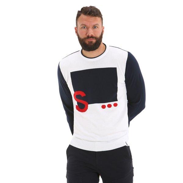 G36 men's crewneck cotton jumper