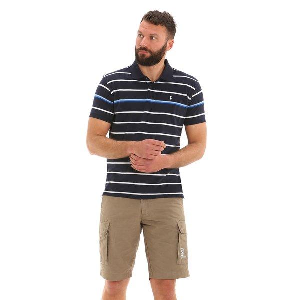 E78 men's short-sleeved cotton polo shirt