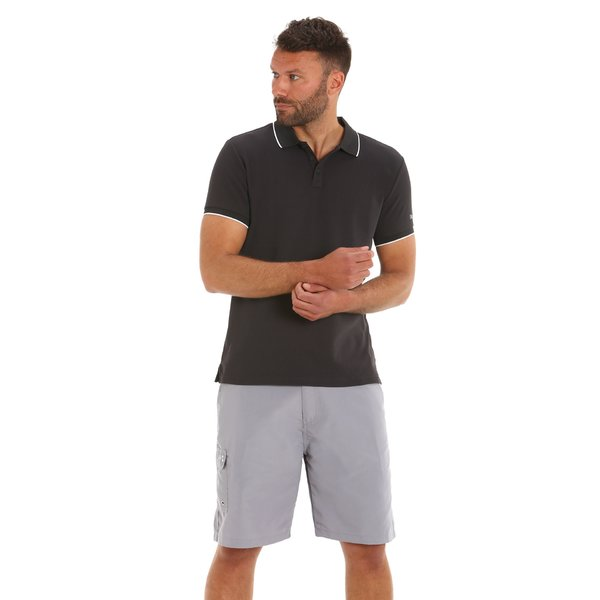 Men's breathable and resistant Tactel polo