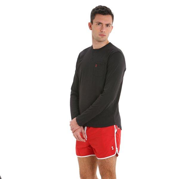 LS E120 Long Sleeve men's t-shirt with pocket