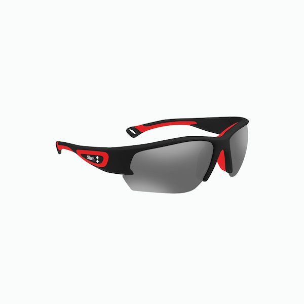 Racer sunglasses for men with mirrored lenses