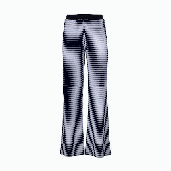 C190 Striped stretch women's trouser