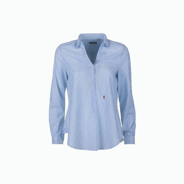 C04 women's shirt in checkered cotton