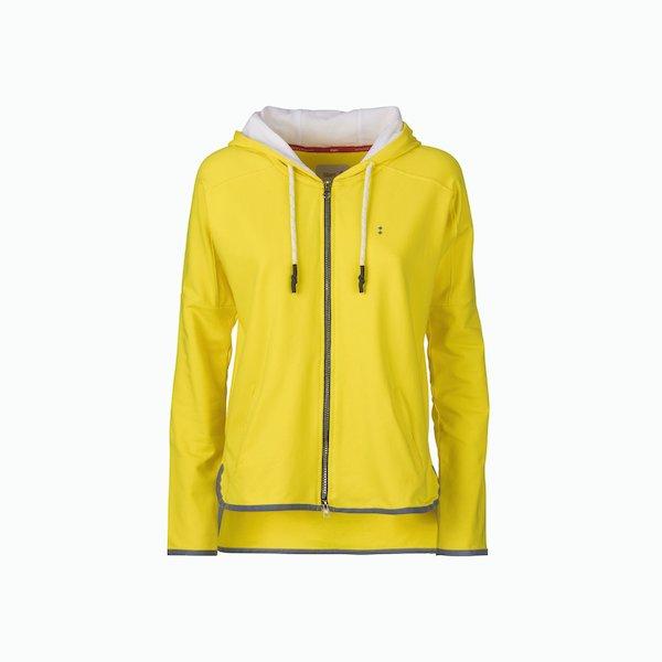Women's sweatshirt C101 sport zip with hood