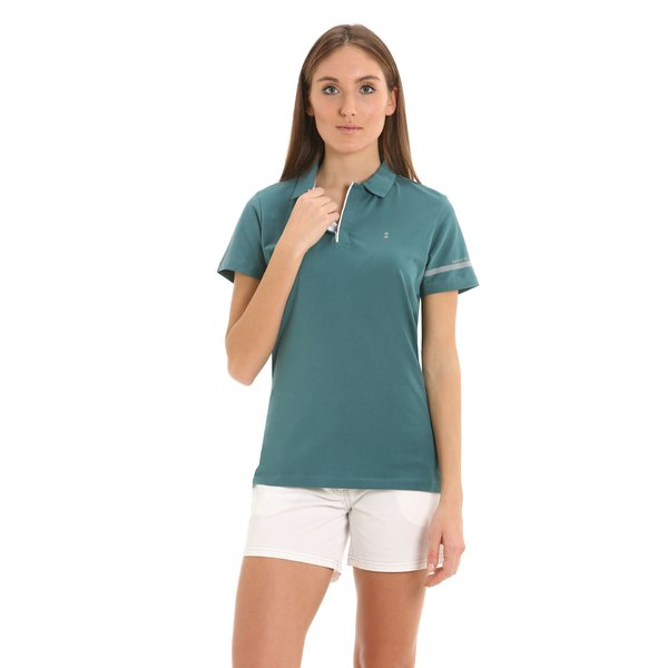 G275 women's polo shirt in stretch jersey