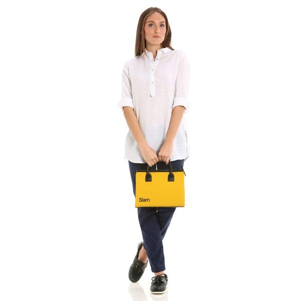 D923 women's bowler bag with detachable shoulder strap