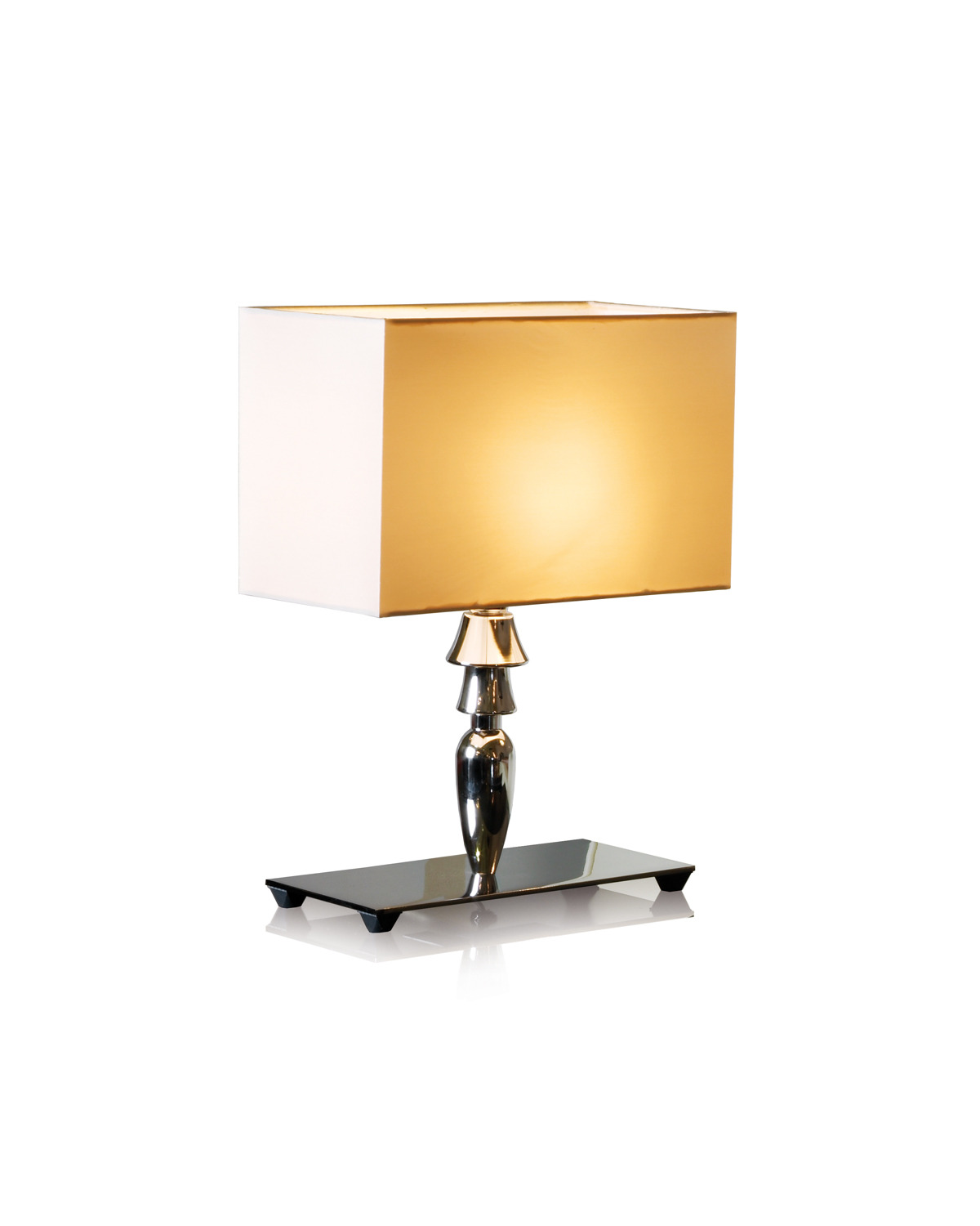 Visionnaire Online Shop Table Lamp Chromed Steel Base And Lathed Aluminium Stand