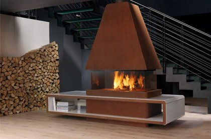 Central Fireplaces