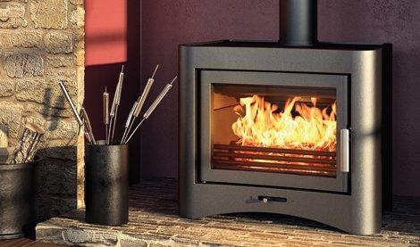 Wood Burner with Back Boiler