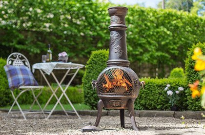 Cast-Iron Chimineas