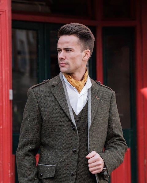 Vestes en tweed pour hommes