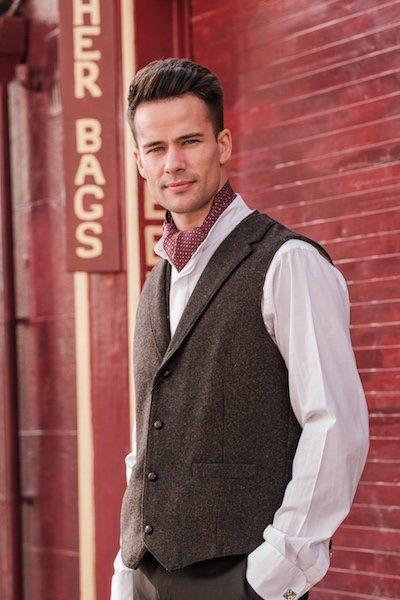 Gilets et vestes en tweed pour hommes