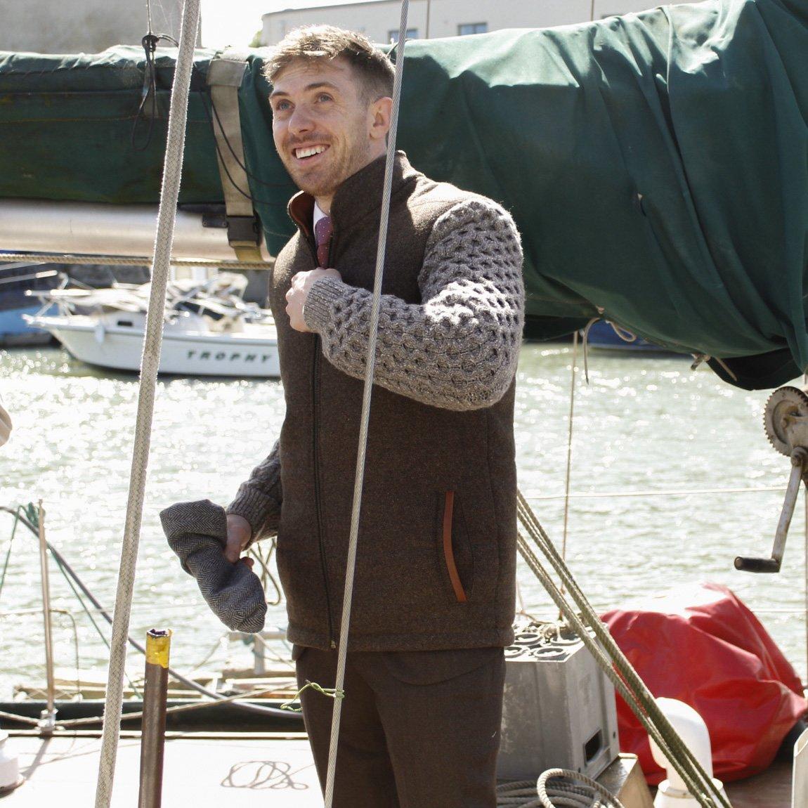 La collection de tricots Shackleton