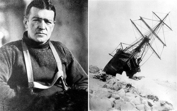 Die Shackleton-Strickwaren-Kollektion - inspiriert von Ernest Shackleton