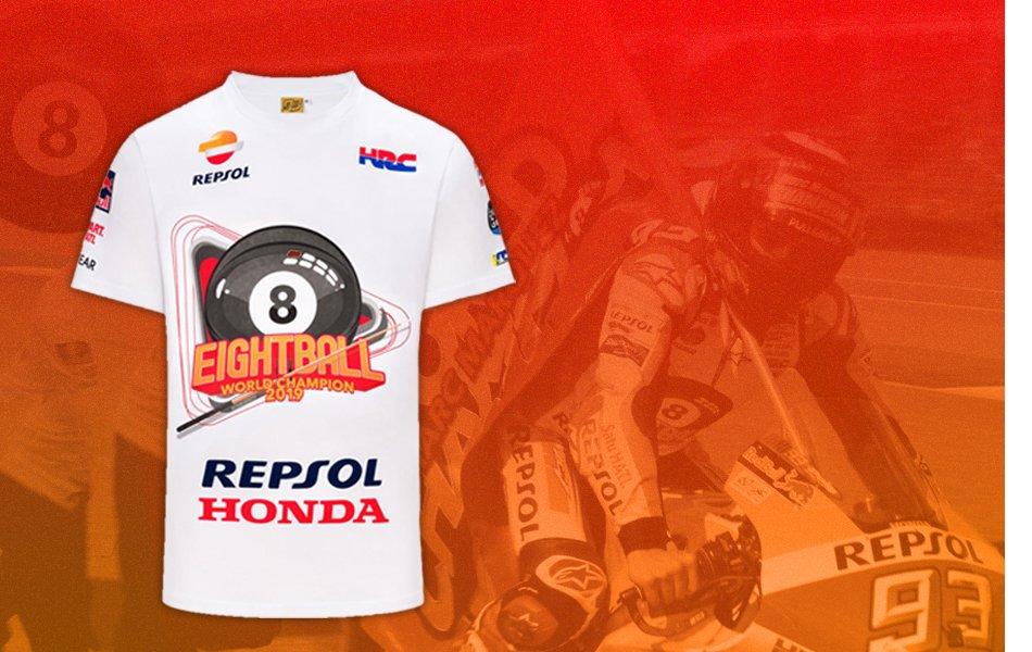 2019 World Champion Marc Marquez t-shirt
