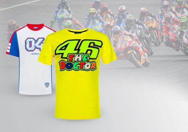 OFFICIAL MotoGP<sup>TM</sup> T-SHIRTS