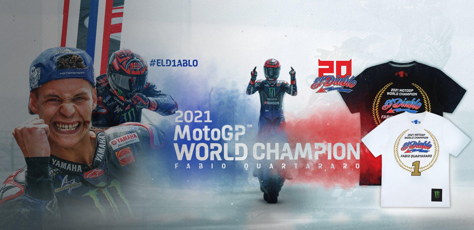Fabio Quartararo World Champion 2021 T-shirt