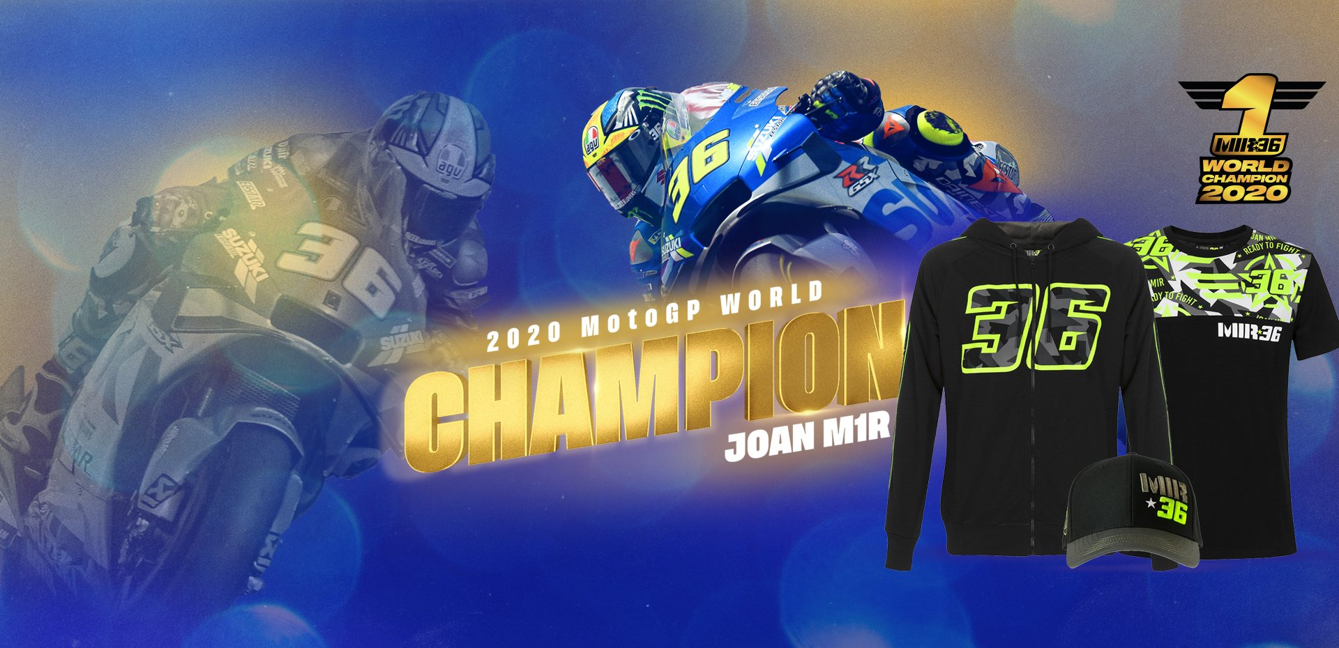 Joan Mir</br>Champion du Monde 2020