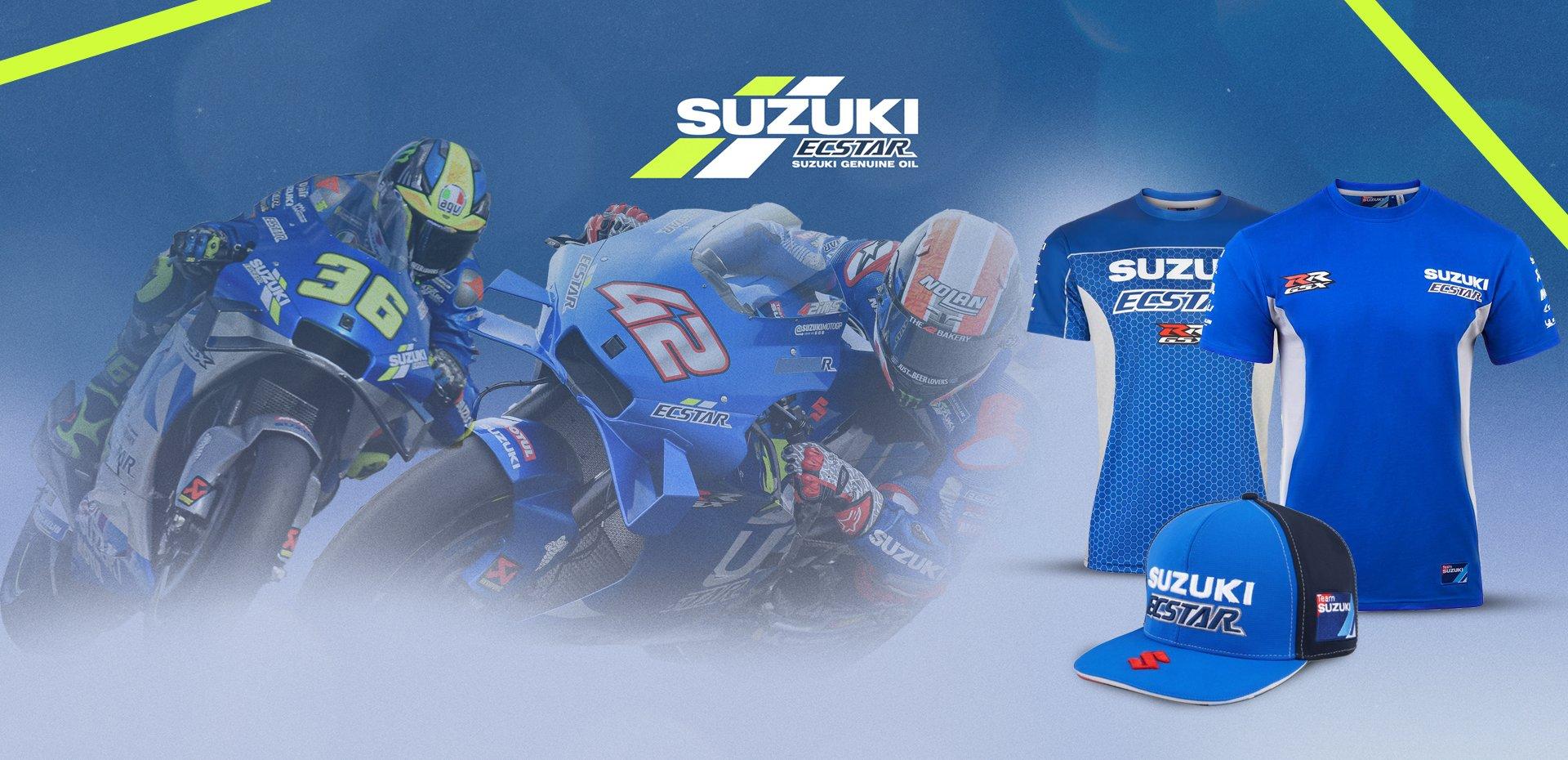 Félicitations à l'équipe Suzuki Ecstar!