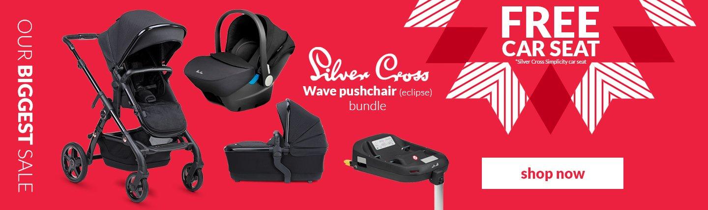 Silver Cross Wave Eclipse Bundle
