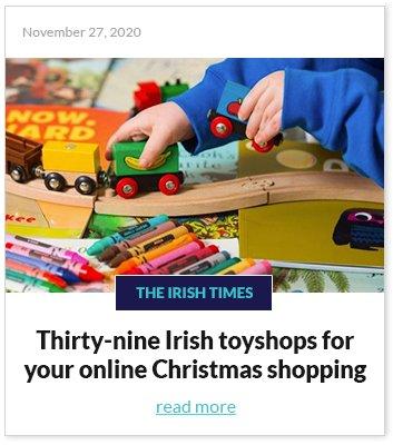 Thirty-nine Irish toyshops