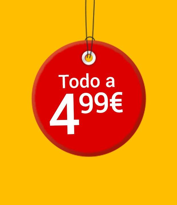 Todo a 4,99€