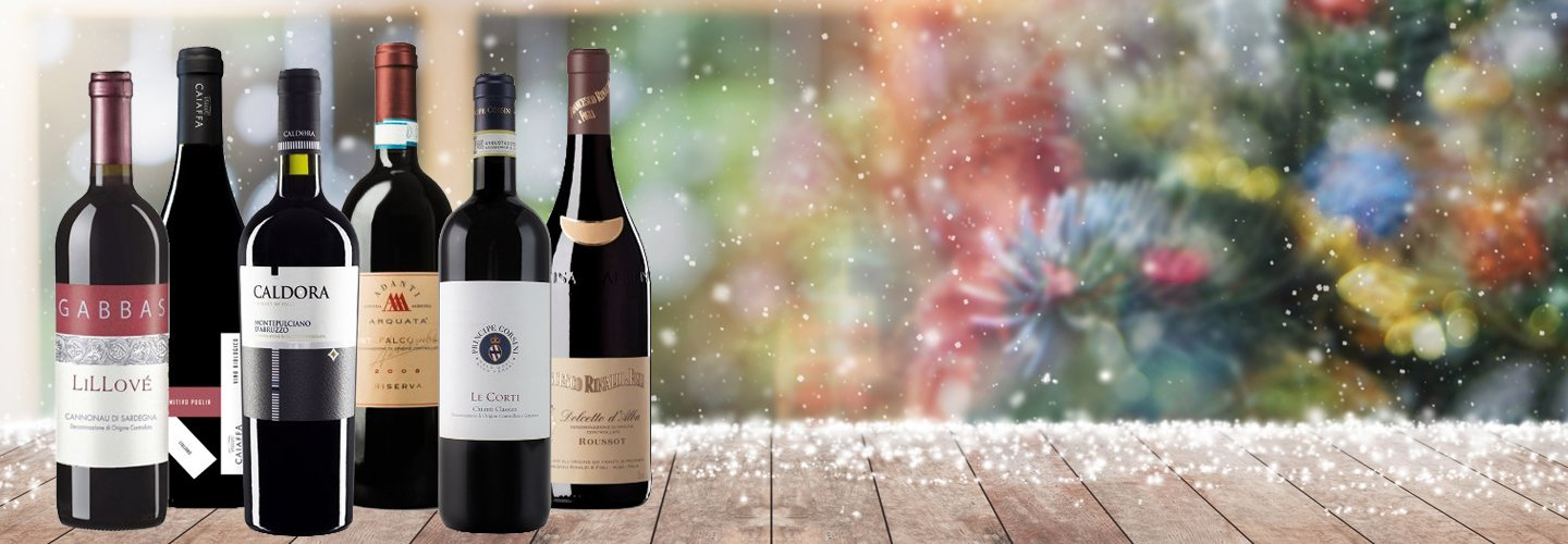 Exclusive mixed wine cases with premium wine selection