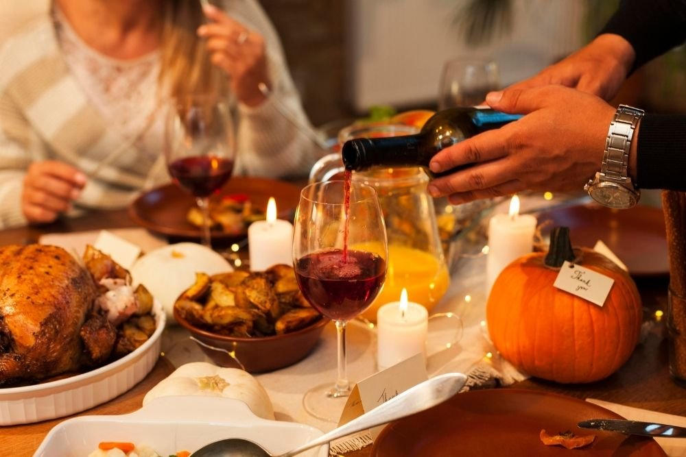 Fall in love with autumn dishes & wines