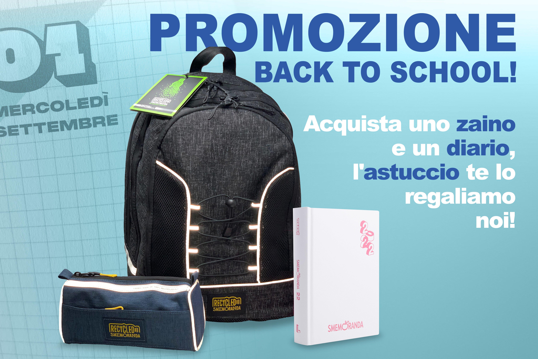 PROMOZIONE<br>Back To School 21/22!