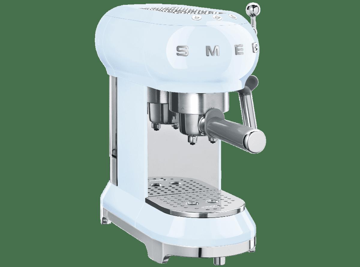Cafetera Espresso Smeg Azul