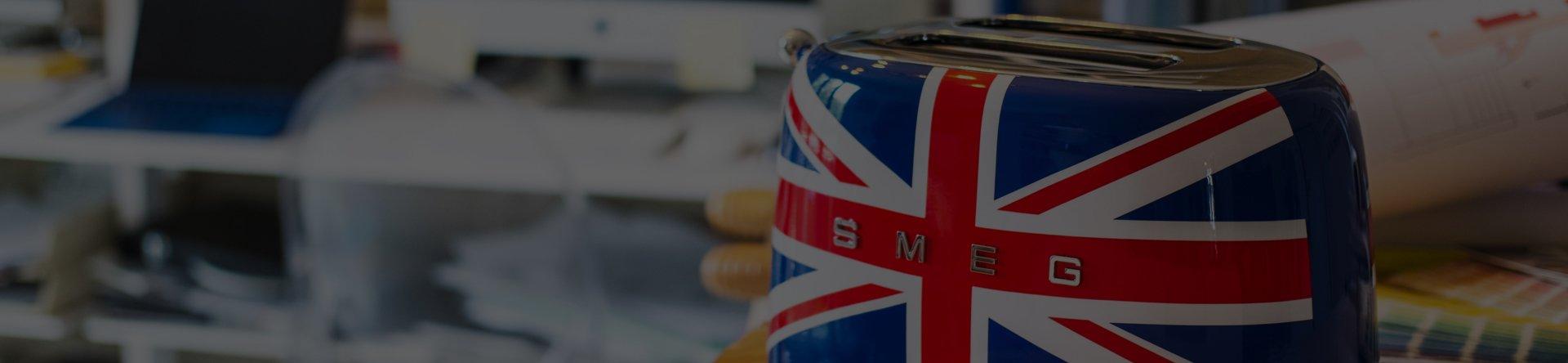 Colección Union Jack | Tienda oficial Smeg