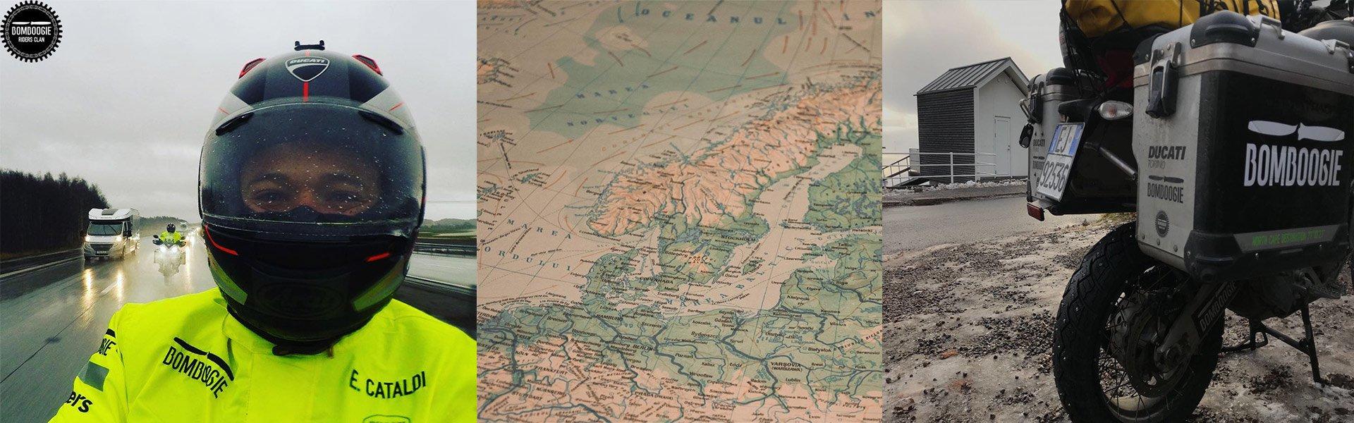 <font face='DIN Condensed' size='7' >Attraverso la Danimarca.</font>