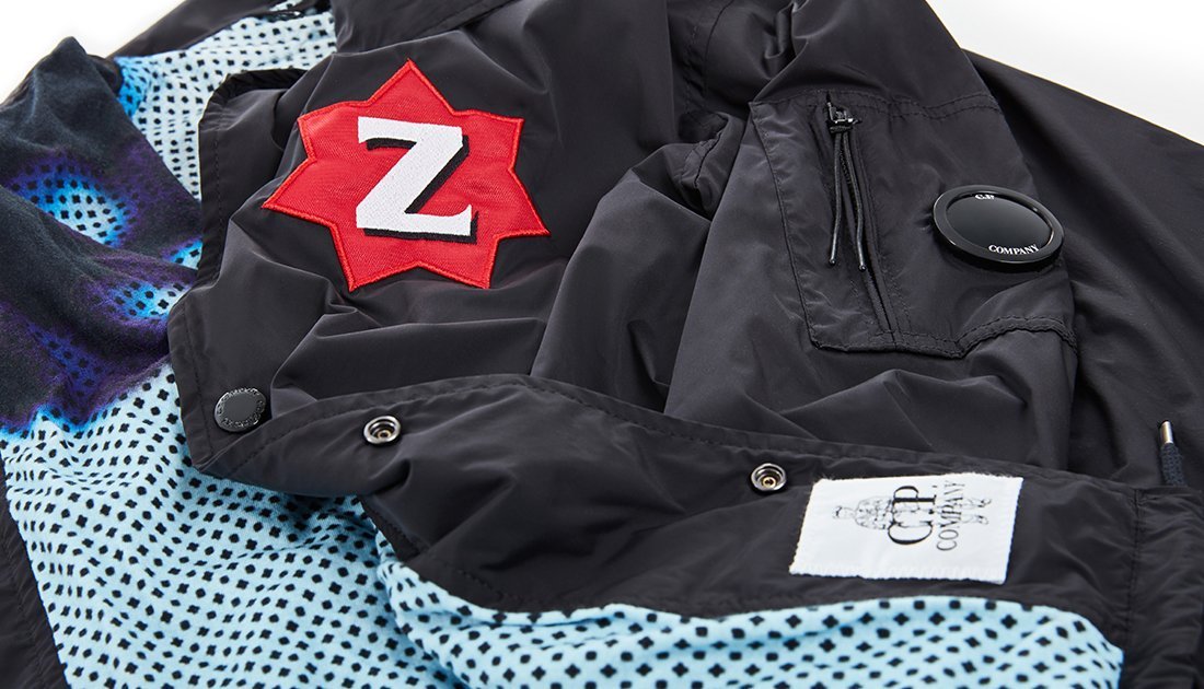 C.P COMPANY x G FOOT LIMITED EDITION GORILLAZ TOUR JACKET SIZE LARGE BNWT