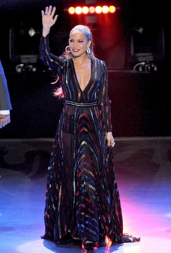 Jennifer Lopez in Blumarine