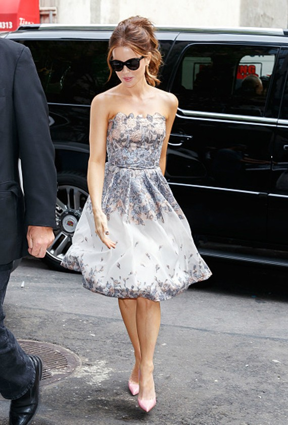Kate Beckinsale in Blumarine