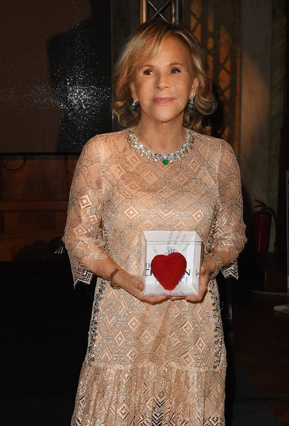 Anna Molinari ha ricevuto il The Children for Peace Honoring Award 2017