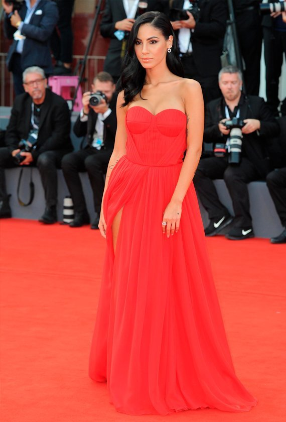 Giulia De Lellis at the 75th Venice International Film Festival