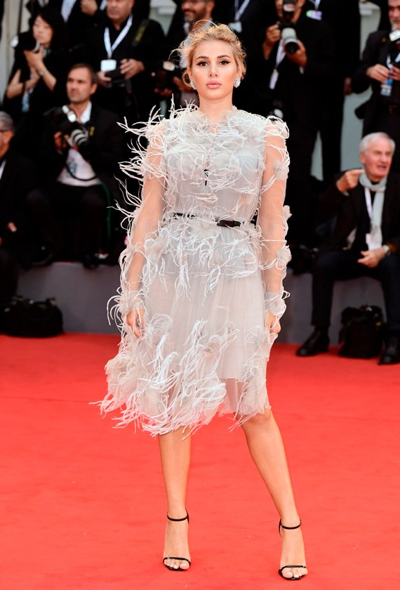 Cristina Musacchio at the 75th Venice International Film Festival