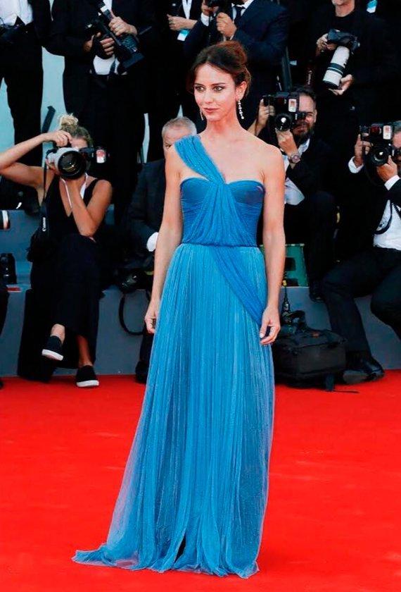 Caterina Guzzanti at The 75th Venice International Film Festival