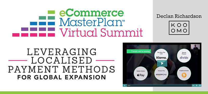 eCommerce MasterPlan Virtual Summit 2018