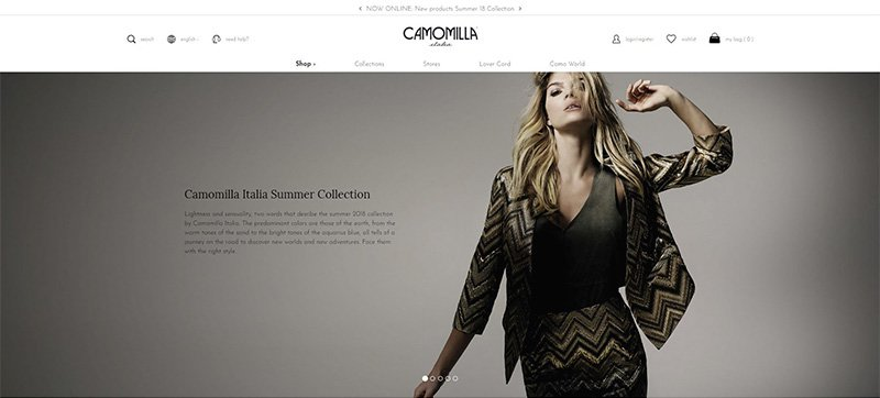 Camomilla Italia Now Offers<br> Full Omnichannel Experience with Kooomo