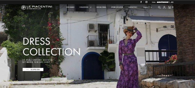 Le Piacentini ha appena lanciato il suo nuovo store online