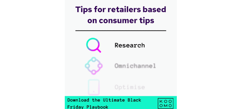 Optimise your eCommerce platform to align with consumers' Black Friday shopping habits