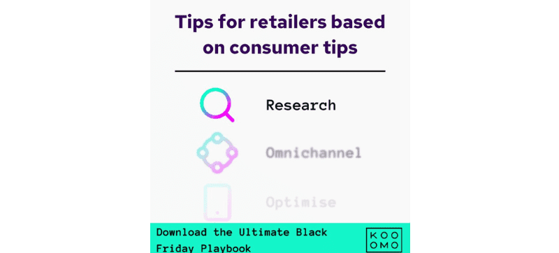 Optimise your eCommerce platform to align with consumers' Black Friday shopping habits